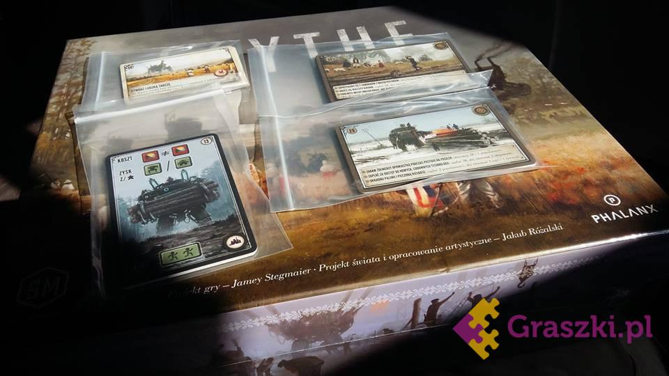Zestaw kart promocyjnych do Scythe (KICKSTARTER) PL